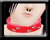 -F- Red Collar PawsM