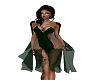 *Calli* DkGrn Fury Dress