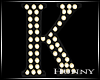 H. Marquee Letter K
