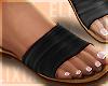 ʟx Black Sandal