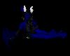 Dragon tail Blue w/ blk