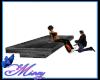 couple Skate Bench