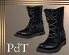 PdT Black Field Boots M