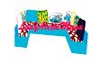 LAM Smurf C-shaped Sofa