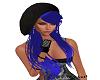 Pamela Blue hair