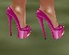 !Em FusciaPinkGold Heels