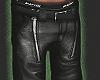 Zipper Skater Pants