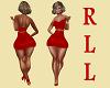 DRESS RED RLL 1
