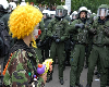 A Clown VS Police Force