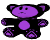 Purple Kittybear Chair