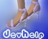 DH Pink Glitter Sandals