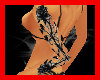*D* Gothic Rose Tattoo