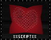 SCR. Heart Pillow