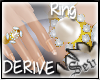 *S DERIVE Pearl Ring