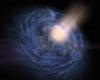 Neon Wormhole Galaxy