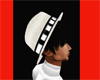 `CC`HAT HAIR WHITE