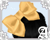 Satin Bow~ Gold II