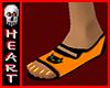 Halloween open toe Flats