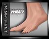-Bare Feet- Black Nail F