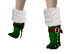 Green/Red Christmas Boot