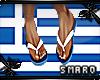 Greek  flip flops