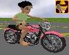 Lips Animated Motorbike