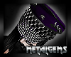 CEM Purple Studded Hat