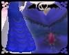 Blue Regency Dress