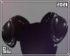 Rubber   Black pig ears
