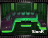 SIN Neon green Couch