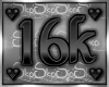 16k SUPPORT STICKER