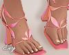 Sunset Petal Heels