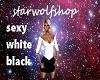 black/white sexy