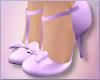 Violet Bowtie Heels