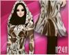 24: Brown Floral Hijab