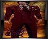 DQ Dark Red Full Suit