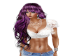 Hair Purple Lizzy 10