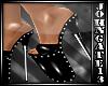 PvC Black Studs Heels