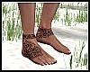Polynesian Feet Tattoo