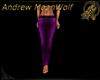 Belted Jean Purple