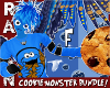 (F) COOKIE MONSTER BUNDL