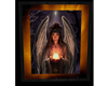 Winged Angel Crystal Bal