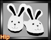 [HB] Bunny Slippers-Wh