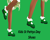 Kids St Pattys Day Shoes