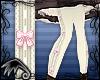 LK~Bow Stockings-Pink