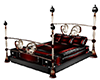 antique red bed