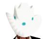 White teal Cowboy Hat