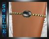 *SB*Black JeweledArmband