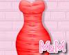 MzM e Red Maxi Dress