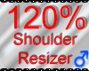 *M* Shoulder Resizer 120
